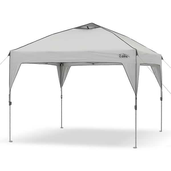CORE 10u0027 x 10u0027 Instant Shelter Pop-Up Canopy Tent with Wheeled Carry Bag  sc 1 th 225 & Top 10 Best Pop Up Canopy Reviews [UPDATED April 2019]