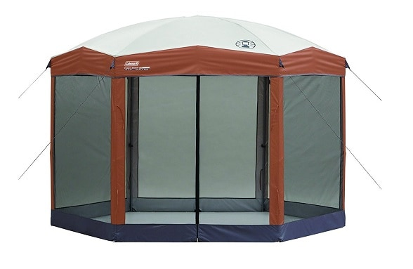 Coleman Back Home Instant Screenhouse is more than just a small canopy. Itu0027s a rather large product designed to offer you protection against the sun ...  sc 1 th 181 & Top 10 Best Pop Up Canopy Reviews 2018 [UPDATED]