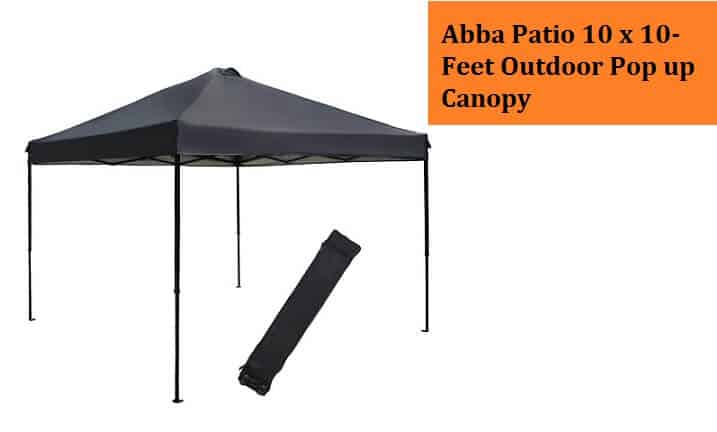 Abba Patio 10 x 10-Feet Outdoor Pop up Canopy Review
