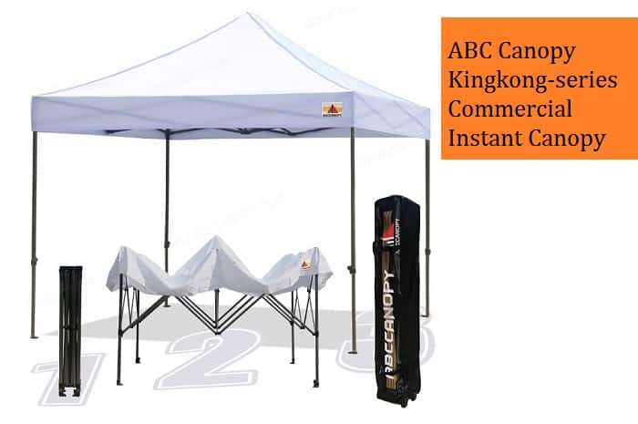 ABC Canopy Kingkong-series 10 X 10-feet Commercial Instant Canopy Review