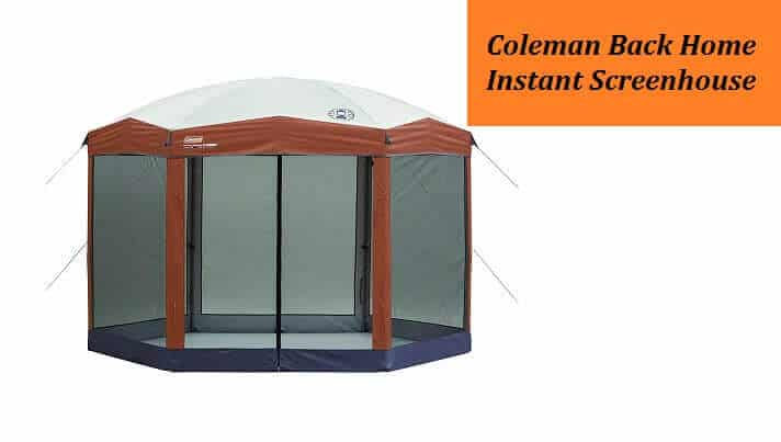 Coleman Back Home Instant Screenhouse Review
