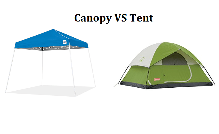 What's the Difference Between Canopy and Tent?