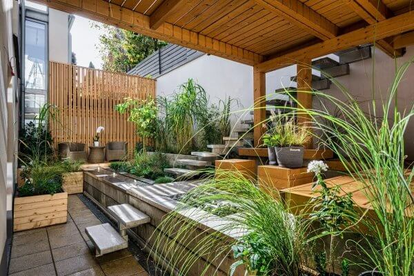 10 Cool Covered Patio Ideas on  A Budget